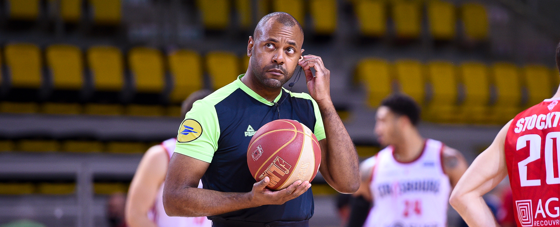 Eddie Viator : nouveau patron des arbitres de basketball